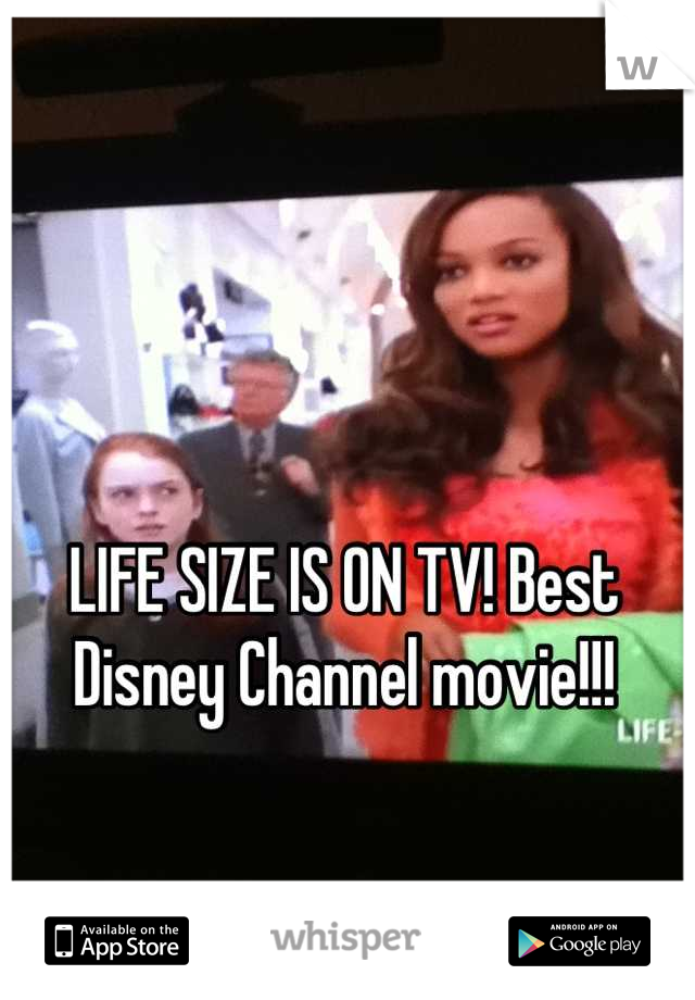 LIFE SIZE IS ON TV! Best Disney Channel movie!!!