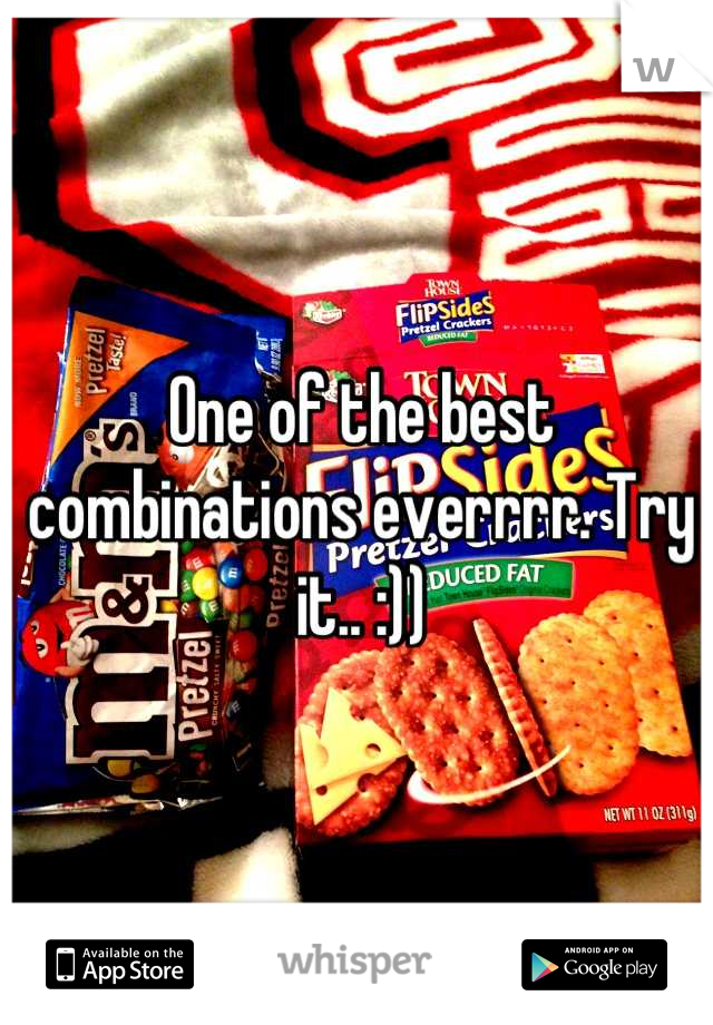 One of the best combinations everrrr. Try it.. :))