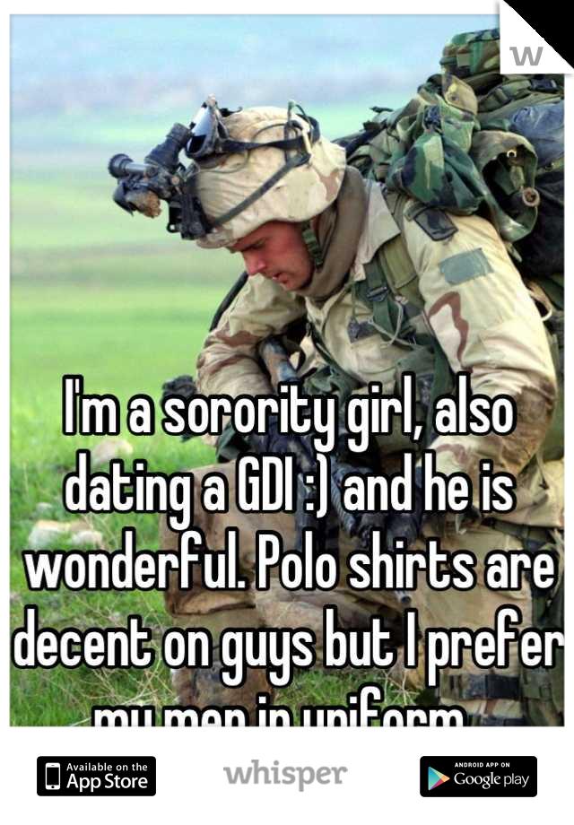 Gdi dating sorority girl