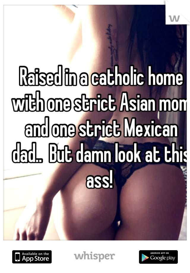 Strict asian mommy