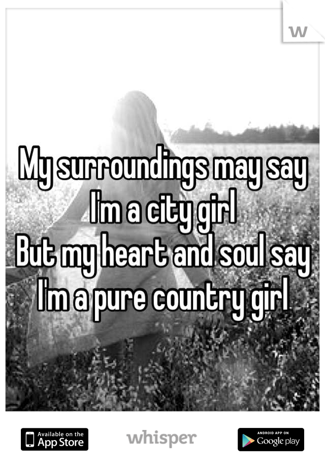 what to say to a country girl