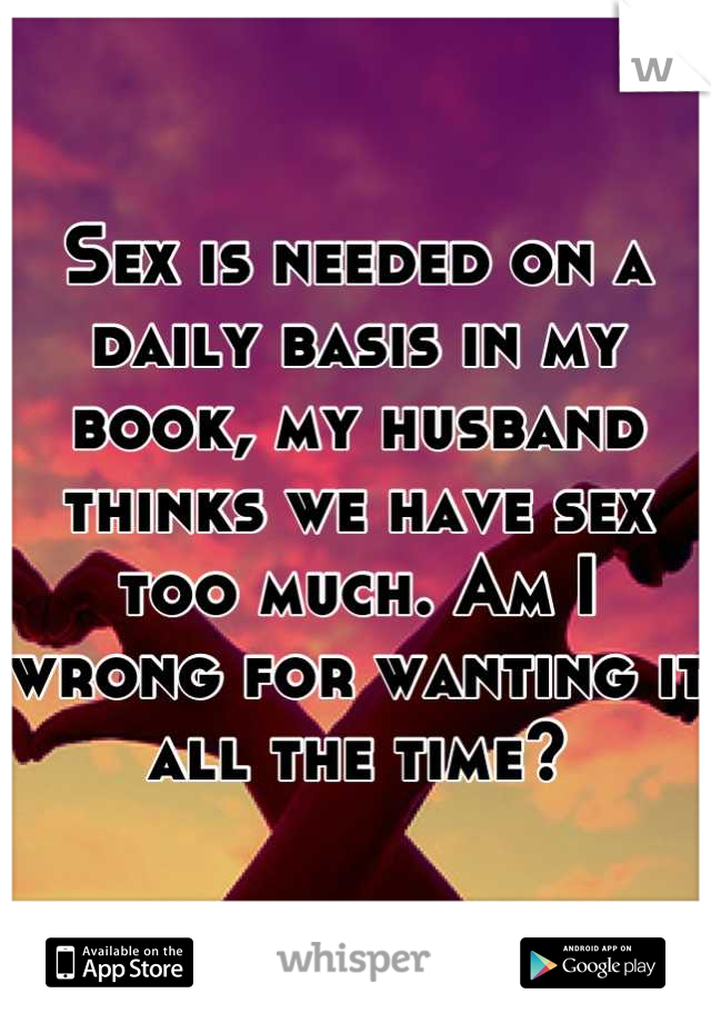 Book my time for sex