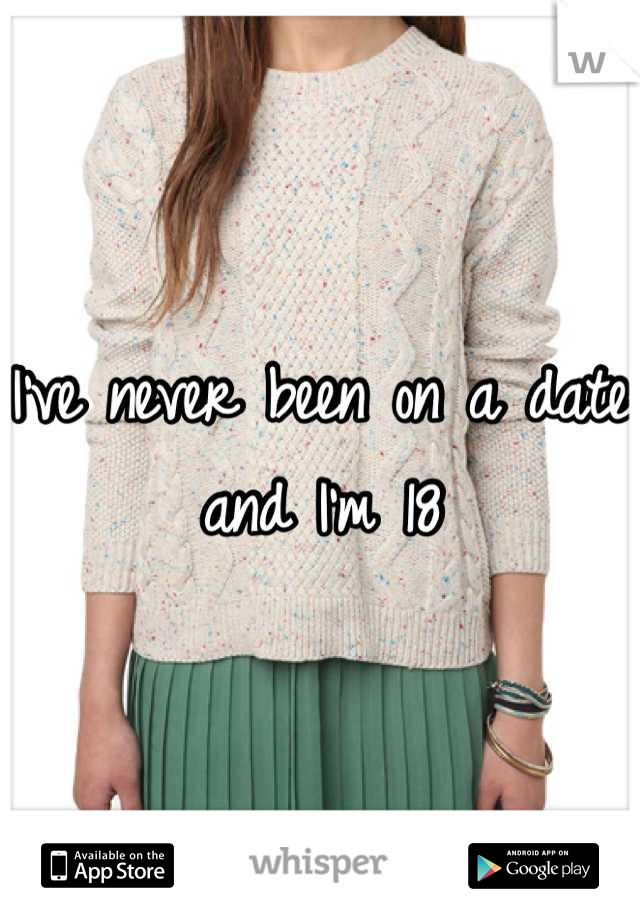 I've never been on a date and I'm 18