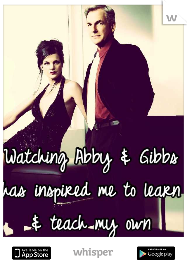 Watching Abby & Gibbs has inspired me to learn & teach my own children sign language