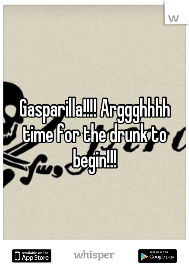 Gasparilla!!!! Arggghhhh time for the drunk to begin!!!