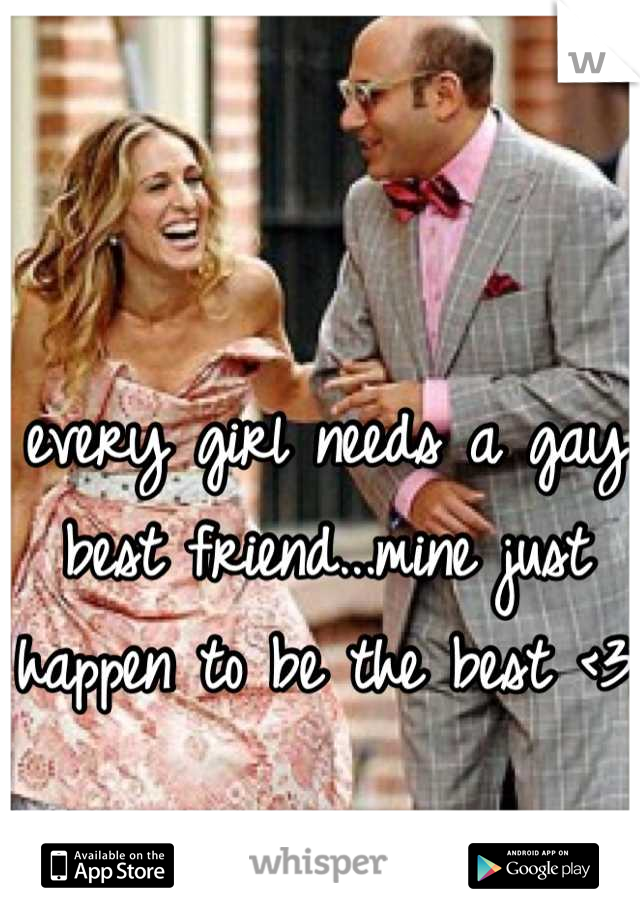 every girl needs a gay best friend...mine just happen to be the best <3