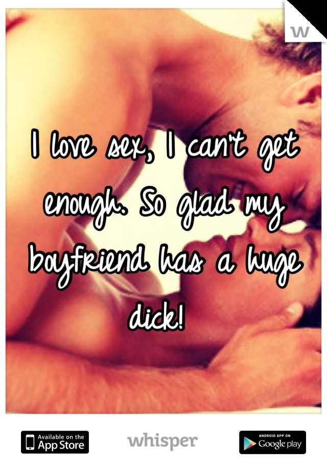 Love s boyfriend I cock my