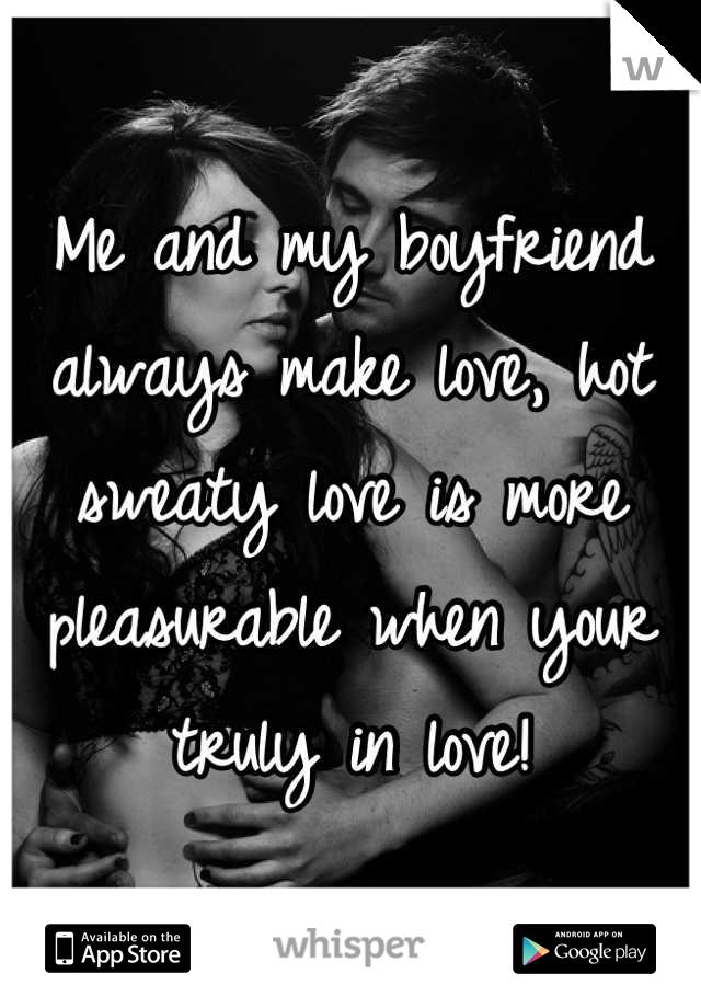 Boyfriends play and make love