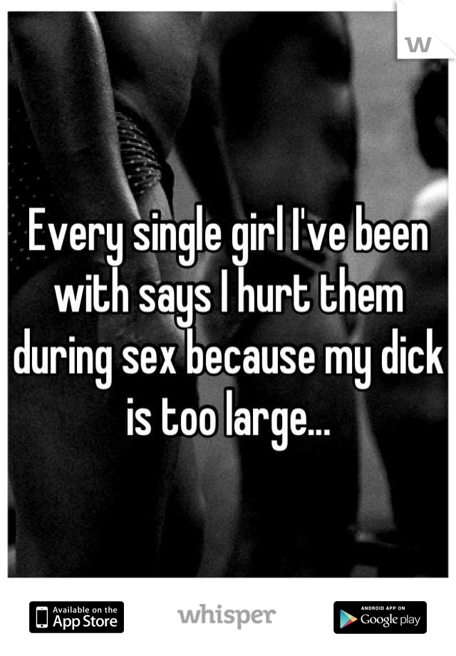 why does my dick hurt