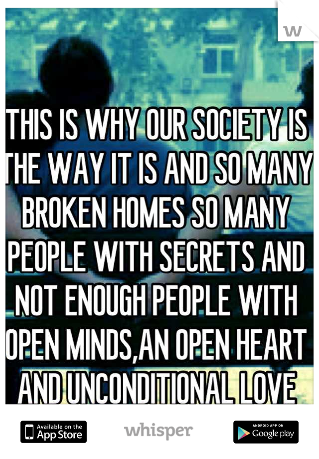 THIS IS WHY OUR SOCIETY IS THE WAY IT IS AND SO MANY BROKEN HOMES SO MANY PEOPLE WITH SECRETS AND NOT ENOUGH PEOPLE WITH OPEN MINDS,AN OPEN HEART AND UNCONDITIONAL LOVE ACCEPTANCE FOR HIS BROTHER.SAD
