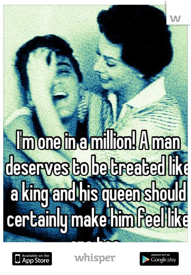 how to make a man feel like a king