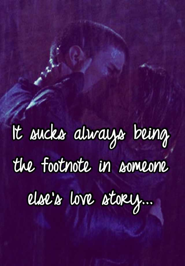 Someone Elses Love Story