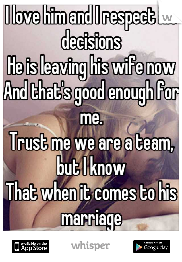 leaving a good marriage