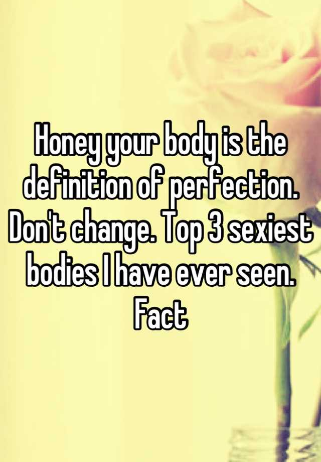 Sexiest definition
