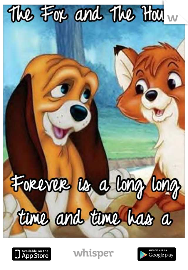 The Fox and The Hound     Forever is a long long time and time has a way of changin things.
