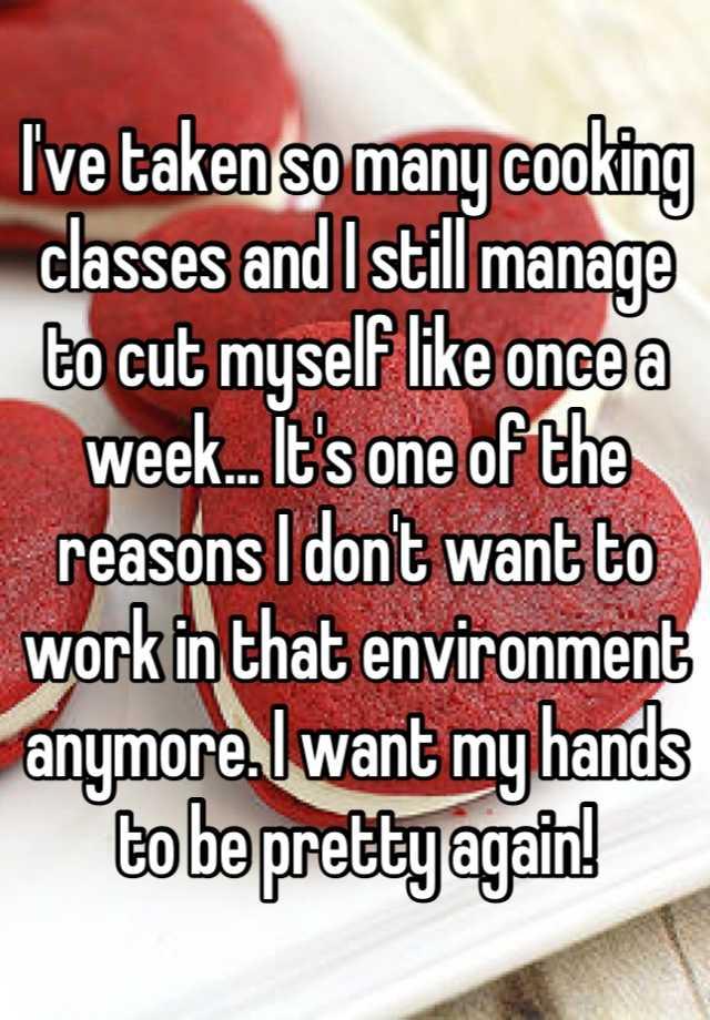 reasons why i should cut myself