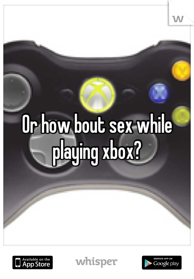 sex apps on xbox 360