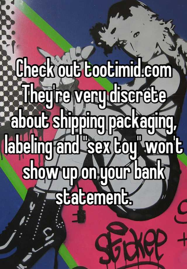 Check Out Tootimid Com They Re Very Discrete About Shipping Packaging Labeling And Sex Toy Won T Show Up On Your Bank Statement Tootimid coupon code & promo codes. whisper