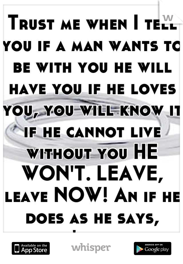 How do you know when a man loves you