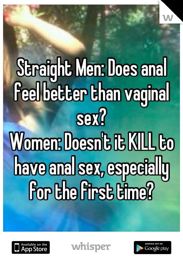 Are Sex better for men or women