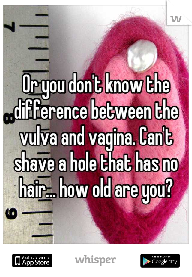 cant find hole Vagina