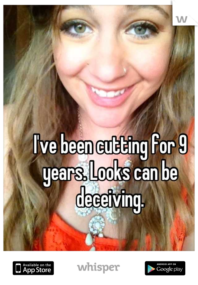 I've been cutting for 9 years. Looks can be deceiving.