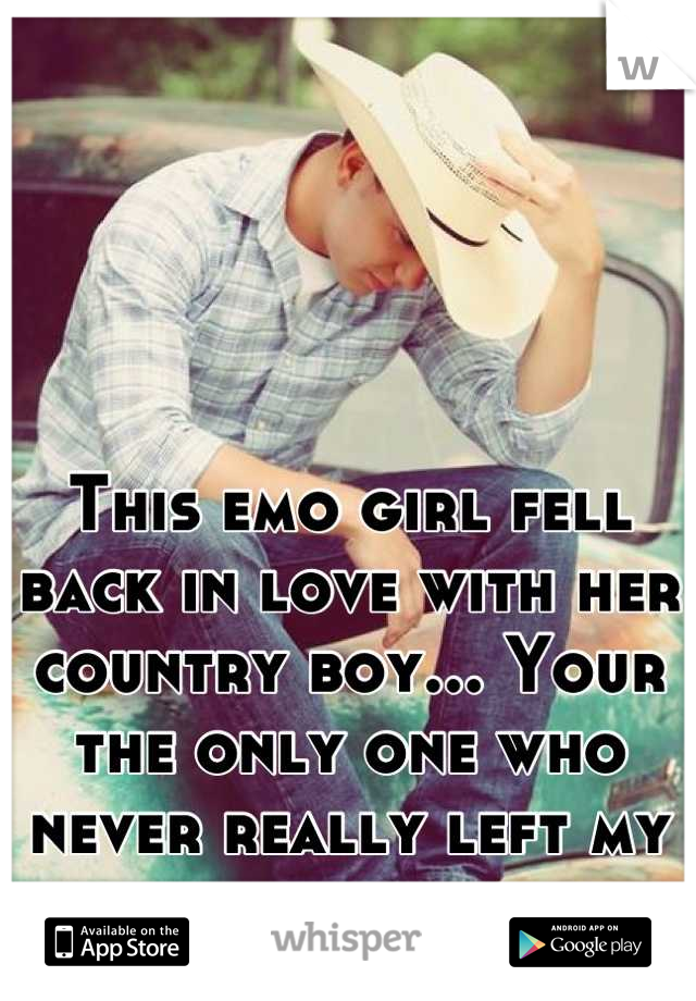 fell in love with a country girl