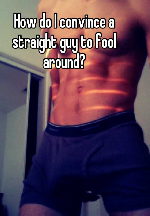 Muscled fooled straighty