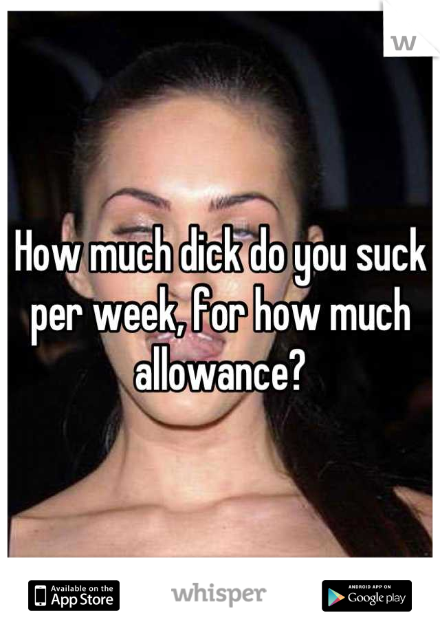 Do you know how to suck dick