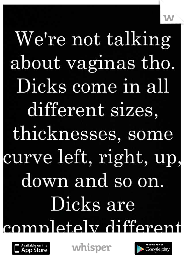 Do vaginas come in different sizes