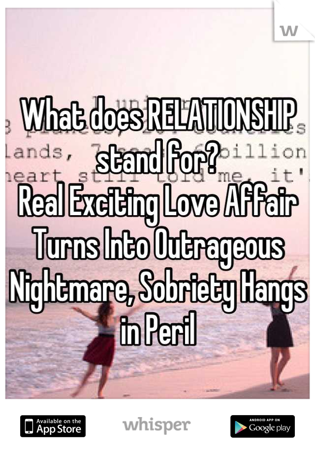 Can An Affair Be Real Love