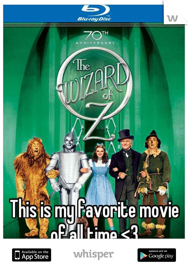 This is my favorite movie of all time <3