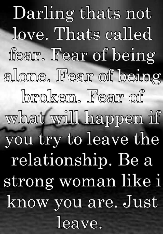 Fear of being alone is called