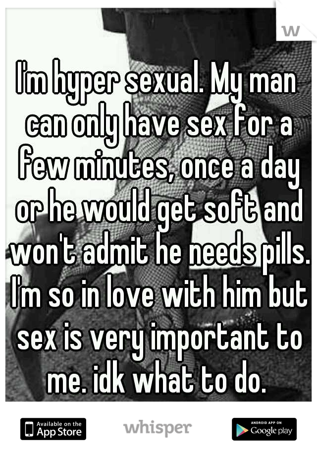 why wont my man have sex with me