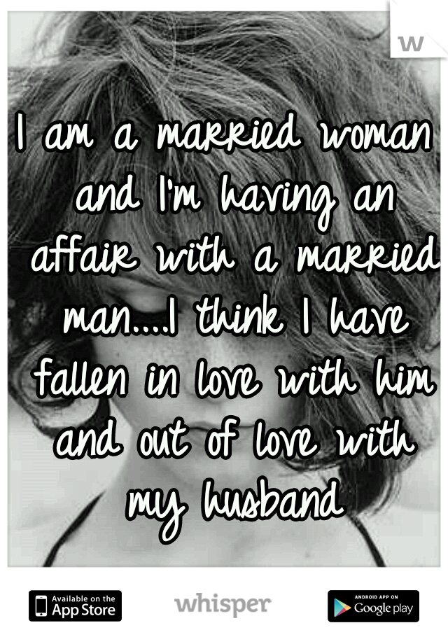 am in love with a married woman