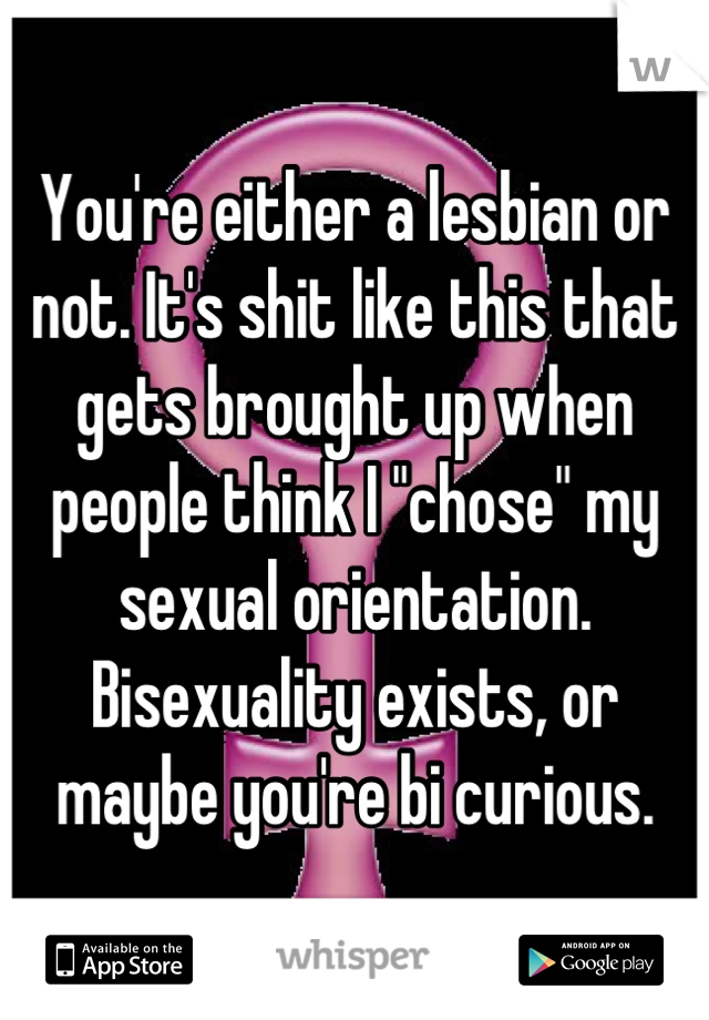 What does it mean if you are bi curious sexual orientation