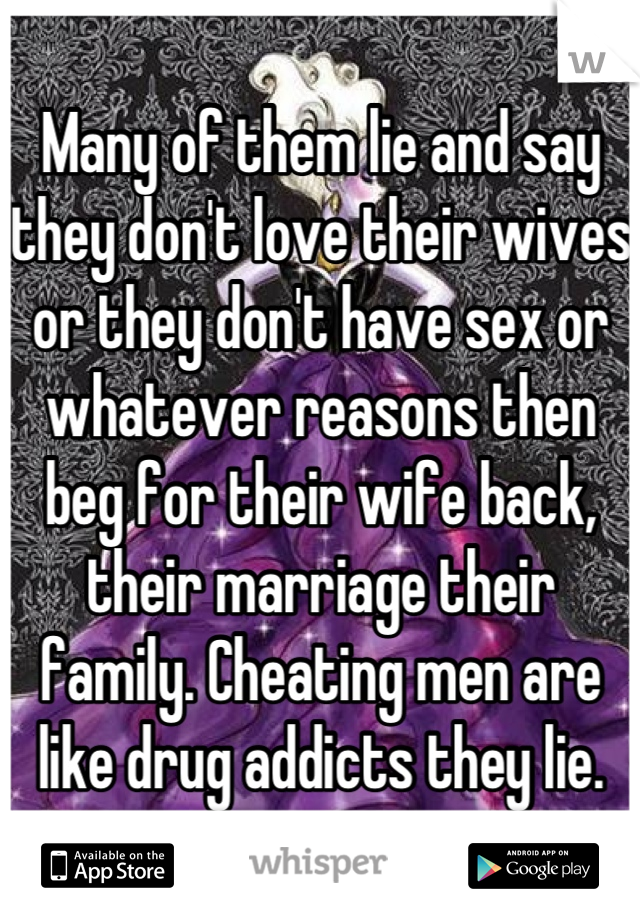 Why Do Men Who Love Their Wives Cheat