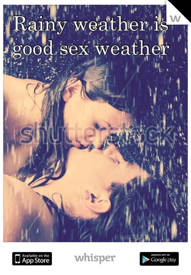 Погода секс