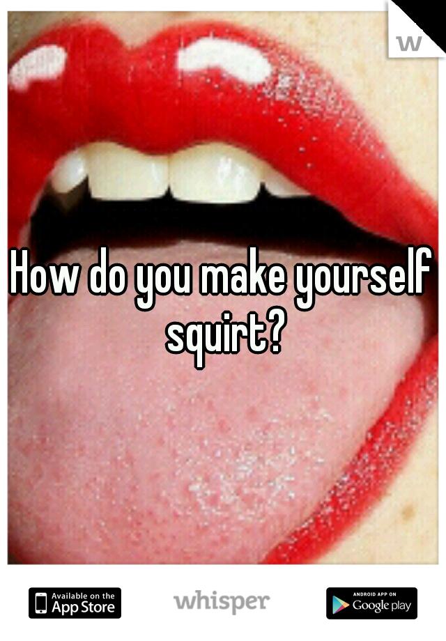 How do you squart