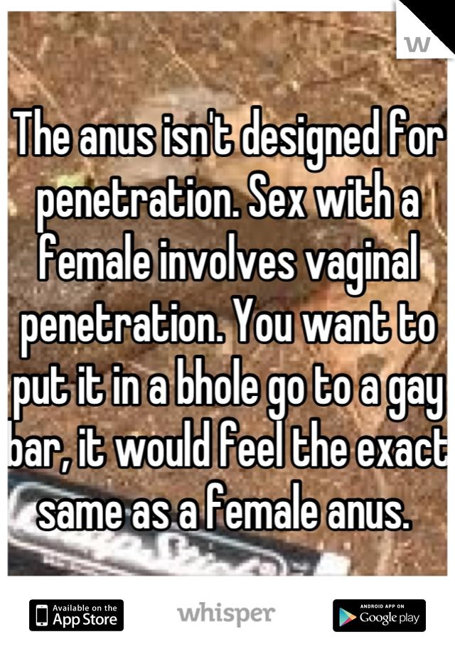 veginal penetration