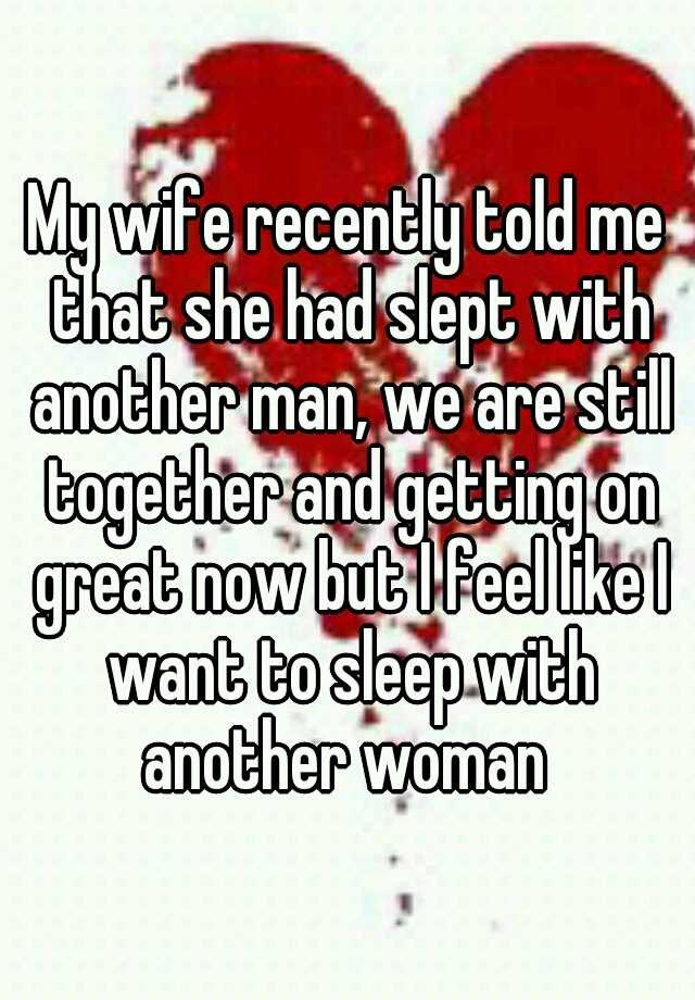 how to get wife to sleep with another woman