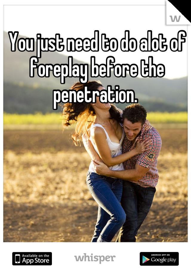 Already Alot of penetration consider