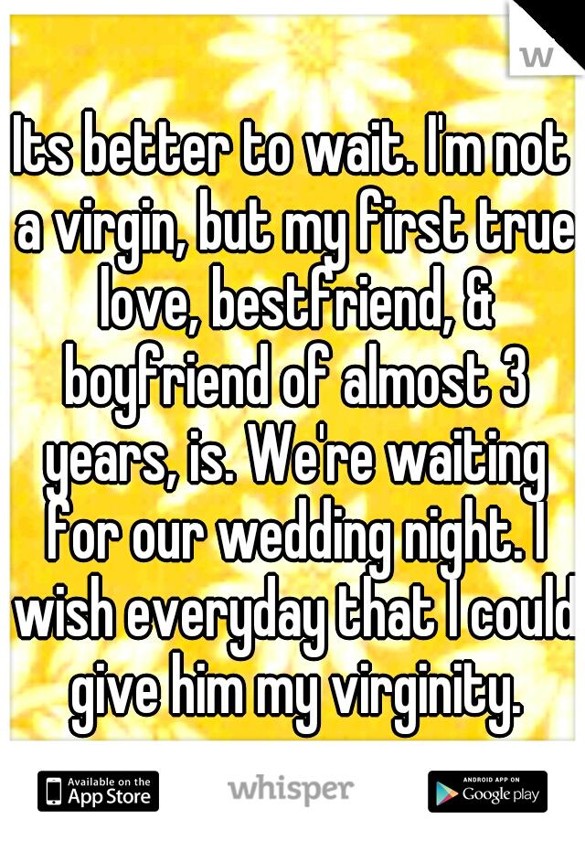 Almost virgin 3 consider, that