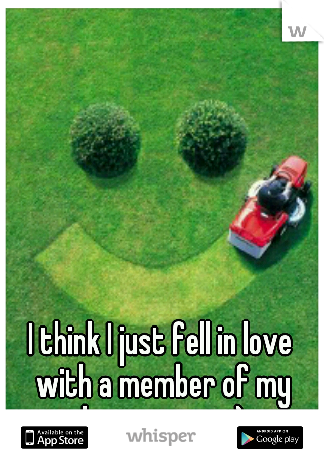 I think I just fell in love with a member of my lawn crew :-)