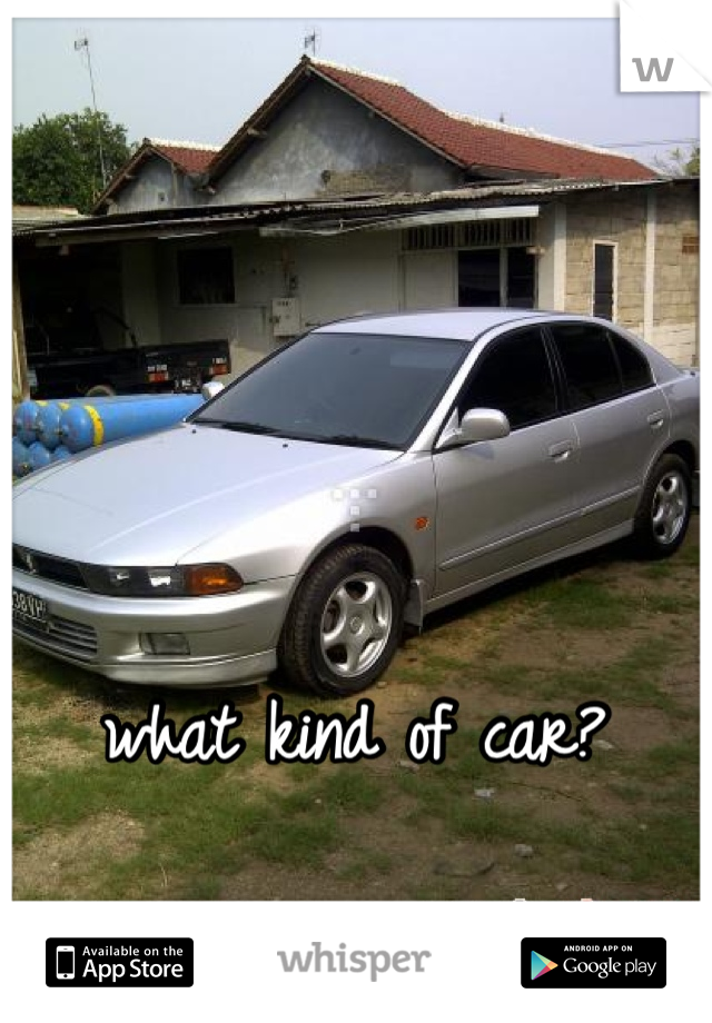 what kind of car?