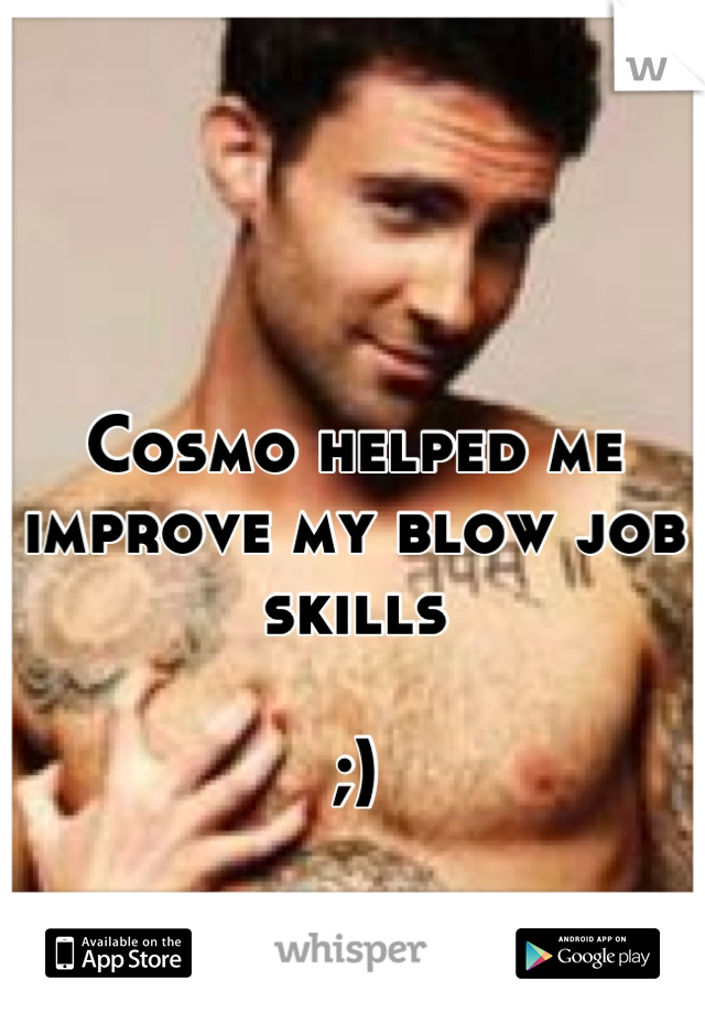 Cosmo blow