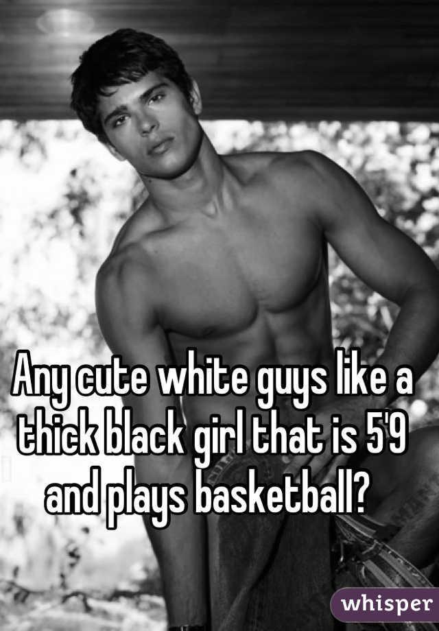 Black Girl Skinny White Guy