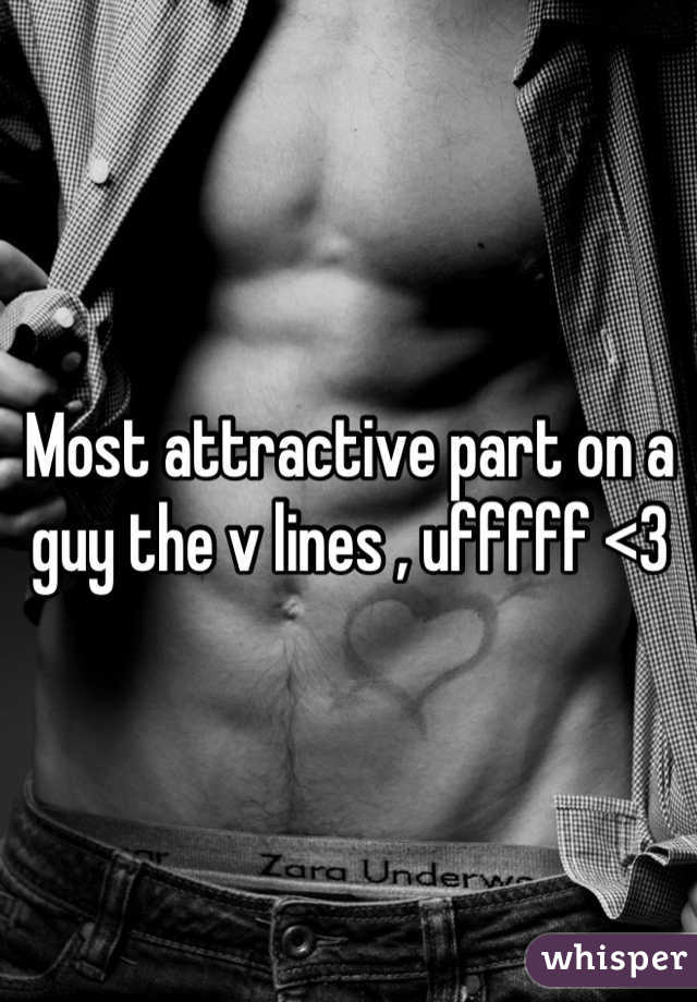 Most attractive part on a guy the v lines , ufffff <3