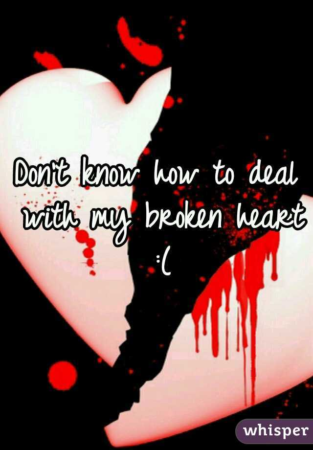 Don't know how to deal with my broken heart :(