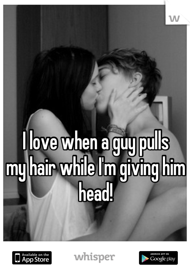 Giving A Guy Head